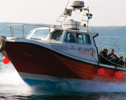 Atlantis Newquay Fishing Trips