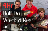 Newquay Wreck & Reef Fishing